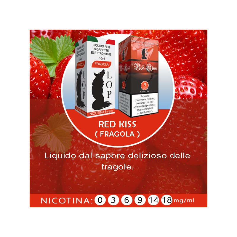 Fragola/Red Kiss- 10 ml
