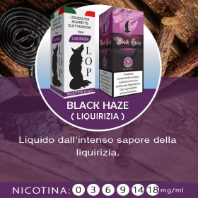 Liquirizia/Black Haze - 10 ml
