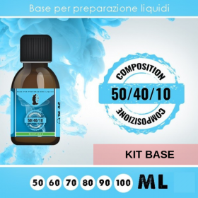 KIT BASE  50/40/10 da 100ml