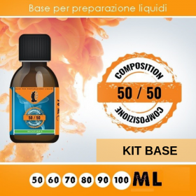 KIT BASE 50/50 da 100ml
