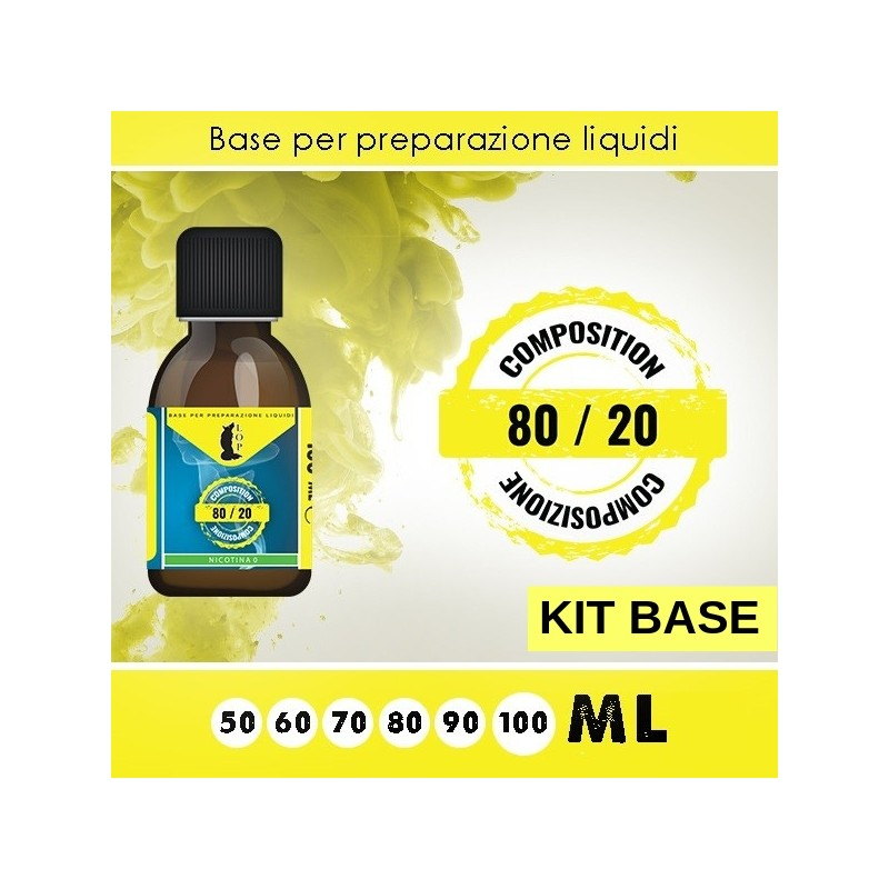 Kit Base 80/20 da 100 ml