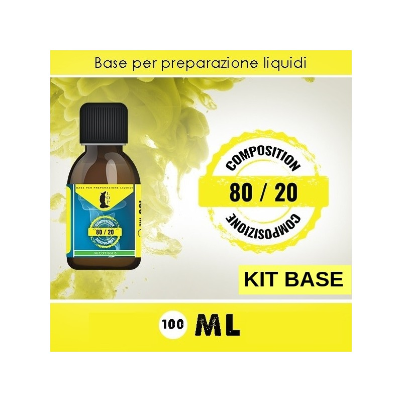 Kit Base 80/20 da 120 ml